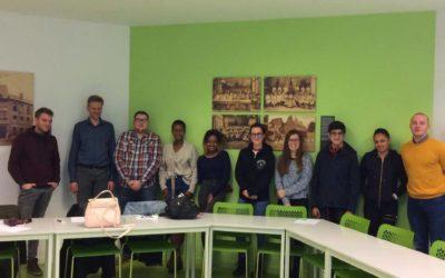 Stéphane Hazée participe à une matinée de formation avec les Jeunes CSC