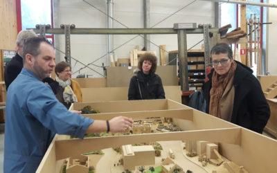 Hélène Ryckmans a visité le CEFA de Court-St-Etienne