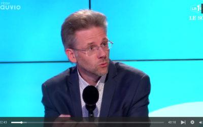 Stéphane Hazée, invité du Grand oral RTBF – Le Soir