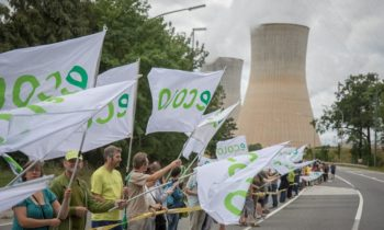 Chaîne humaine contre le nucléaire dimanche 25 juin 2017 – Ecolo au rendez-vous…