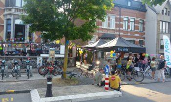 Dring Drink, l'apéro des cyclistes à la Plante – Stéphane Hazée bien présent